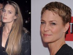 Robin Wright's super short pixie haircut for House of Cards -- do you recognize her?