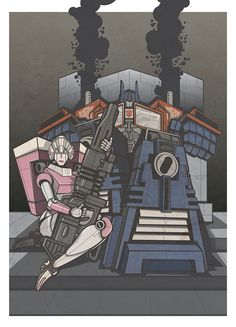 Arcee-Prime-800 by The-Cosmic-Kid.deviantart.com on @deviantART