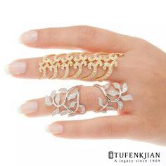 Beautiful full finger rings
