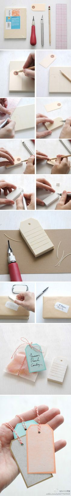 make your own tag rubber-stamp tutorial