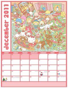 【2011】2011.12 Calendar ★Little Twin Stars★
