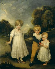 John Hoppner, (British, 1758–1810). The Sackville Children, 1796.