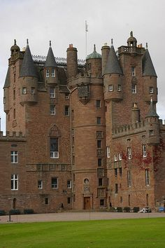 Glamis Castle, Glamis, Scotland. Glamis Castle has been the home of the Lyon family since the 14th century, though the present building dates largely from the 17th century. Glamis was the childhood home of Elizabeth Bowes-Lyon, who married King George VI, and was later known as Queen Elizabeth The Queen Mother. Her second daughter, Princess Margaret, was born there.