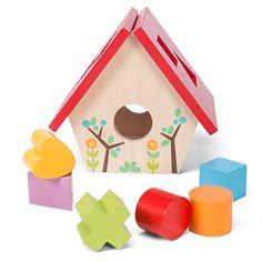 Le Toy Van Petilou My Little Bird House Shape Sorter