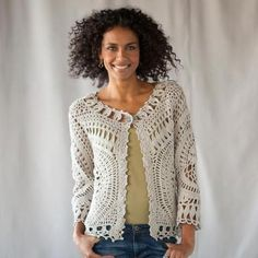 CELOSÍA CARDIGAN      ♪ ♪ ... #inspiration_crochet #diy GB