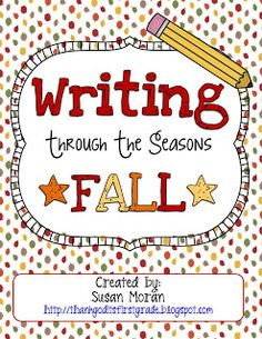 Throwback Thursday: Writing Through the Seasons!