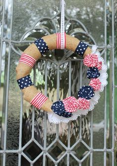 60 Amazing 4th July Wreaths For Your Front Door