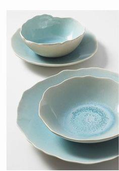Vaisselle collection plume, Jars Céramiste - Sélection de produits déco pastel