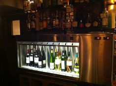 Finally our Wine By The Glass system installed. Already a small success this first week...:))