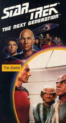 """Star Trek: The Next Generation"" The Battle (TV episode 1987) - S1E8"