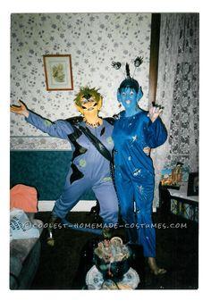 Original Homemade Alien Costumes