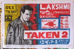 Hand-drawn Indian Movie Posters