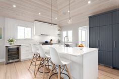 Kitchen renovation by Madeleine Design Group in Vancouver, BC. *Re-pin to your inspiration board*