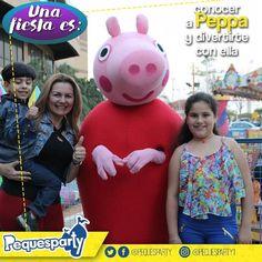 Nuestro personaje más querido espera por ti. No dejes pasar la oportunidad de conocerla   #peppapig #maracaibo #buenosdias #maracaiboguia #diversion #entretenimiento #animacion #personaje #peppa #pequesparty