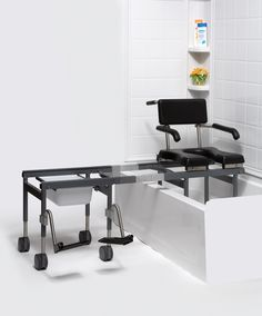 Versa Bath Shower Commode Transfer System.>>> See it. Believe it. Do it. Watch thousands of spinal cord injury videos at SPINALpedia.com
