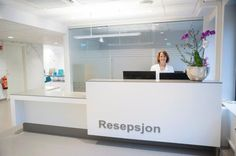 reception desk Corian - Designermade Norway