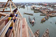 Escuela en Makoko