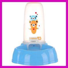 slow water fountain dogs bowl borse per cani cosas para perros conejo small plastic drinking bottle rabbits dog travel BBM5FF