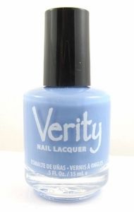 Verity Nail Lacquer - Vintage Blue F22
