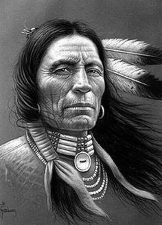 by Miguel Paredes - Native American- Warrior.by Miguel Paredes – Native American