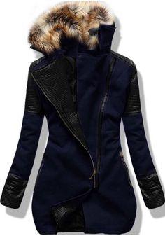 Kabát 6959 granátový