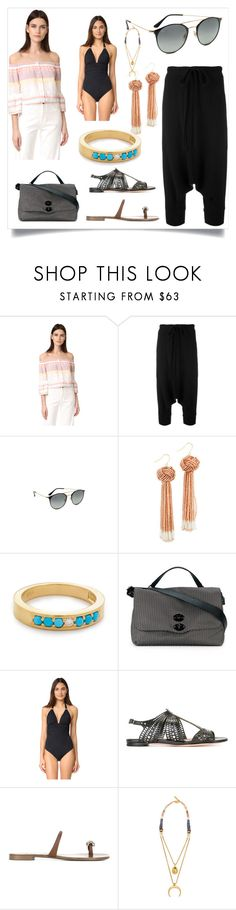 """Your style and your store"" by denisee-denisee ❤ liked on Polyvore featuring Mother, Y's by Yohji Yamamoto, Ray-Ban, Vanessa Mooney, Fayt Jewelry, Zanellato, ViX, Alexander McQueen, Giuseppe Zanotti and Lizzie Fortunato"