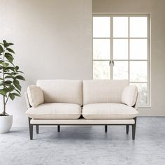 The Floyd sofa is designed to assemble & disassemble beautifully. Made with soft, cozy fabrics and an emphasis on quality & honest materials. Ships fast to your doorstep. Sims 4 Modern House, Japanese Modern House, Modern House Floor Plans, Small Modern Home, Modern House Design, Living Room Modern, Living Room Interior, Living Room Designs, Living Room Decor
