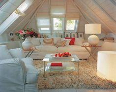 Интерьер мансарды: 50 идей | Sweet home