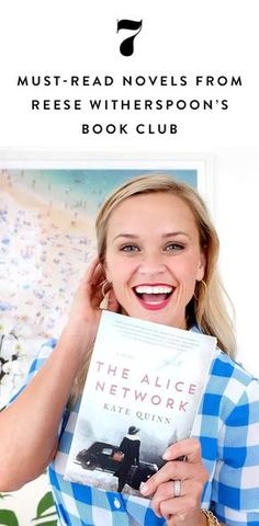 If you're considering joining Reese's book club (or simply searching for a celeb-approved suggestion), check out these 7 books from Reese Witherspoon's reading list. (scheduled via http://www.tailwindapp.com?utm_source=pinterest&utm_medium=twpin)