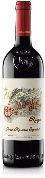 98/100 James Suckling en USA y 95/100 Wine Advocate. Castillo de Ygay Gran Reserva Tinto - Productor Bodegas Marqués de Murrieta de Rioja. Procedente de viñedos de mas de 60 años. Gran Reserva Especial Tempranillo 86 % y 14 % Mazuelo.