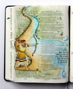 visual blessings: Why I Bible Art Journal...and Why I Don't...