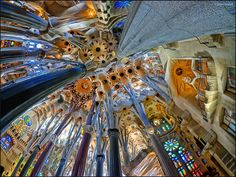 https://flic.kr/p/JqhbWn | (2308) Sagrada Família Barcelona (Fisheye world) | Quim Granell Freelance Photographer  © All rights reserved  Contact: quimgranell@cmail.cat
