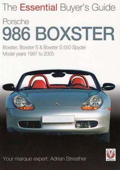 Automoto Bookshop - Porsche 986 Boxster: The Essential Buyer's Guide, $19.99 (http://www.automotobookshop.com.au/porsche-986-boxster-the-essential-buyers-guide/)