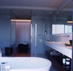 #Decoracion #Moderno #Baño #Tocador #Sanitarios #Vidrio #Griferia #Grifos