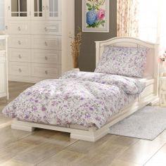 Kvalitex Provence Beáta pamut ágynemű lila, 140 x 220 cm, 70 x 90 cm Provence, Spring, Furniture, Home Decor, Bedding, Rose, Decoration Home, Pink, Room Decor