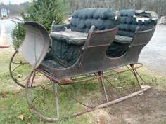 Black Winter Sleigh (Hubbardston)