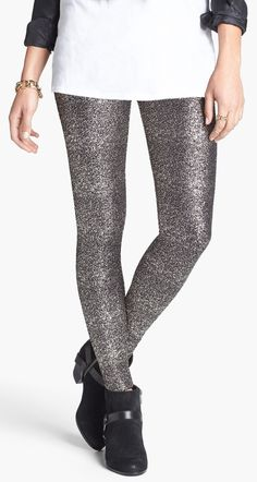 Oh, those glitter tights...