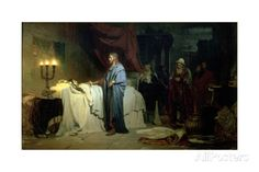 The Raising of Jairus's Daughter, 1871 Giclee Print by Ilya Efimovich Repin at AllPosters.com