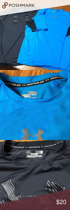 Under Armour compression shirts (pair) Compression shirts by Under Armour. Both size XL. Under Armour Shirts Tees - Short Sleeve
