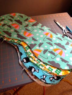 How to make a baby burp cloth...Great for baby shower gifts!!!