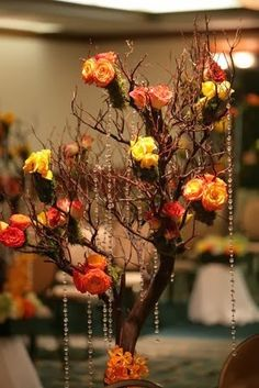 budgetbridesguide.com_small-branches-wrapped-in-ribbon-centerpieces_9.jpg (299×448)
