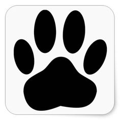 Sold! Dog Pawprint stickers. (Jan. 13) #pets #paws