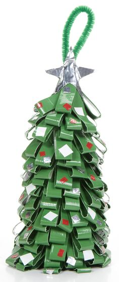 Duct Tape Tree Ornament by DuckTapeBandit.deviantart.com on @deviantART