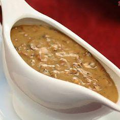 A Vegetarian Traditional Christmas Dinner Menu – Glam Radar Vegan Mushroom Gravy, Creamy Mushroom Sauce, Mushroom Recipes, Vegan Sauces, Vegan Dishes, Traditional Christmas Dinner Menu, Scones Ingredients, Vegetarian Recipes, Cooking Recipes