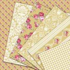 Desert Rose Instant Download Digital scrapbook by HajDesignPapers