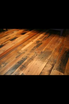 Reclaimed flooring by Good Wood Nashville (www.goodwoodnashville.com)