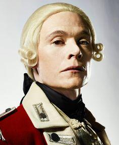 Burn Gorman as Major Hewlett in Season 2 of TURN: Washington's Spies