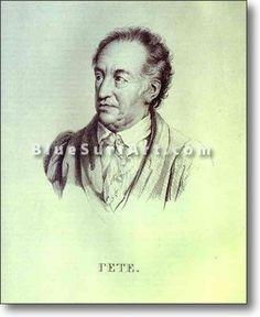 Portrait of I. W. Goethe - £124.99 : Canvas Art, Oil Painting Reproduction, Art Commission, Pop Art, Canvas Painting