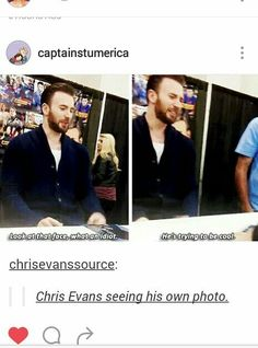 Chris Evans is all of us                                                                                                                                                                                 More