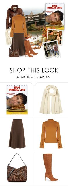 """Autumn Colors - Dan in Real Life"" by gracekathryn ❤ liked on Polyvore featuring Moncler, Gabriela Hearst, Loeffler Randall, Sam Edelman, movie, autumn and hollywood"